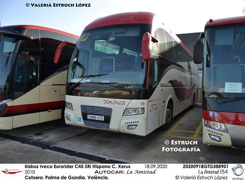 Irisbus Iveco Eurorider C45 SRI Hispano Carrocera Xerus