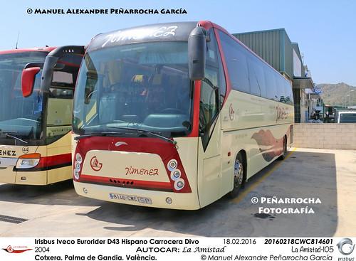 Irisbus Iveco Eurorider D43 Hispano Carrocera Divo
