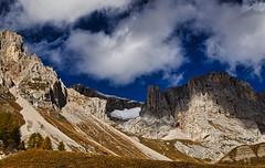 Herbst in den  Dolomiten - Dolomites UNESCO - Rifugio Fuciade