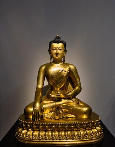 Buda sentado, en el V&A Museum