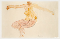 Nude woman dancing sensually by Auguste Rodin. Original from Yale University Art Gallery. Digitally enhanced by rawpixel.