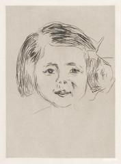 Herbert Esche's Daughter (1905) by Edvard Munch. Original from The MET Museum. Digitally enhanced by rawpixel.