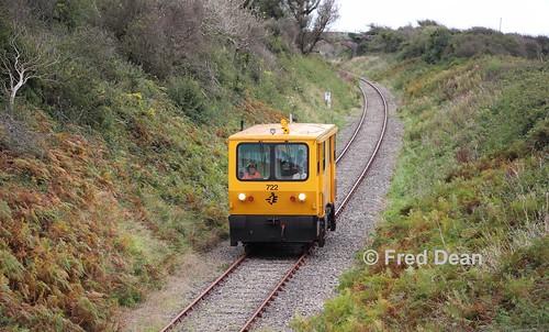 Irish Rail 722 at Baldswinstown.