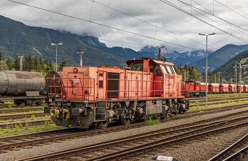 ÖBB 2070 030 Selzthal in de vroege ochtendzon
