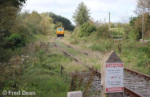 Irish Rail 722 at Bridgetown.
