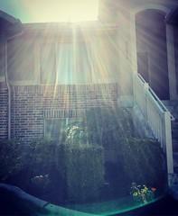 The iridescent sun rays - Utah