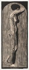 Verdriet (1914) by Samuel Jessurun de Mesquita. Original from The Rijksmuseum. Digitally enhanced by rawpixel.