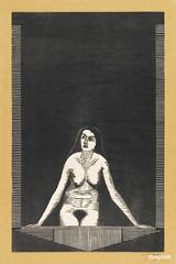Vrouwelijk naakt bij venster (1920) by Samuel Jessurun de Mesquita. Original from The Rijksmuseum. Digitally enhanced by rawpixel.