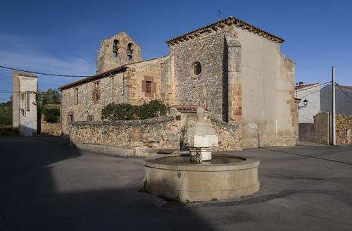 Riofrio del Llano, iglesia de Santa Catalina.