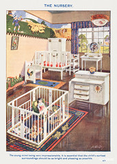 The Nursery from Mrs. Beeton's Book of Household Management. Digitally enhanced from our own 1923 edition.