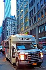 Citicare Car on 33rd St near 6th Ave Midtown Manhattan New York City NY P00675 20191009_182332