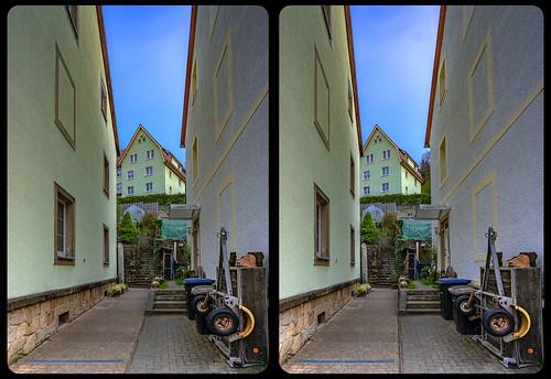 In between 3-D / CrossView / Stereoscopy