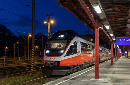 ÖBB 4024 040 S-Bahn Steiermark naar Schladming. Selzthal