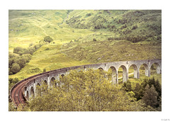 Glenfinnan Viaduct, West Highlands, Scotland.