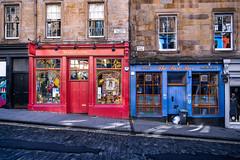 Wizardry shop on Victoria Street in Edinburgh, Scotland, United Kingdom