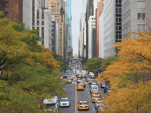 New York City - View from Tudor City Overpass