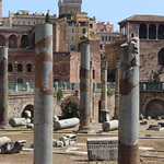 The Forum of Caesar And The Archaelogical area of imperial forums. Rome, Italy - https://www.flickr.com/people/79112365@N06/