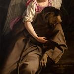 Saint-François et l'Ange, Orazio Gentileschi, Galerie nationale d'Art ancien, Rome - https://www.flickr.com/people/29248605@N07/