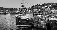 fishing boats at Oban