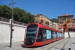 Alstom Citadis X 05 n°032  -  Nice, LIGNES D'AZUR