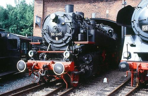 DR 86 049 (Borsig 1932) VSE Schwarzenberg(Erzgeb.)