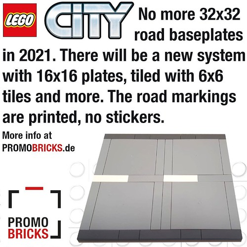 New Lego City road system?