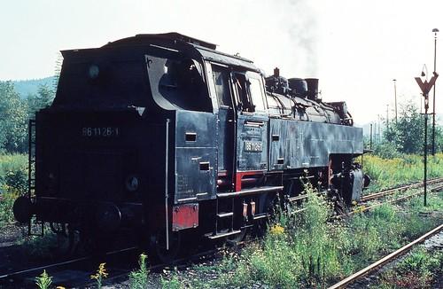 DR 86 1126-1 (ex 86 126; Borsig 1933) Bw Aue