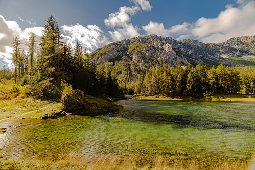 Green lake / Grüner See