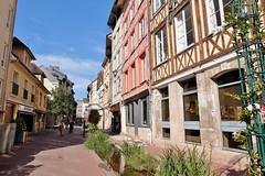 Rouen, Rue Eau de Robec