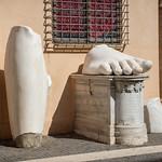 Fragments du Colosse de Constantin, Cortile du Palais des Conservateurs, Musées du Capitole, Rome, 2020 - https://www.flickr.com/people/29248605@N07/