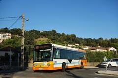 Heuliez Bus GX 127 L n°162  -  Nice, LIGNES D'AZUR