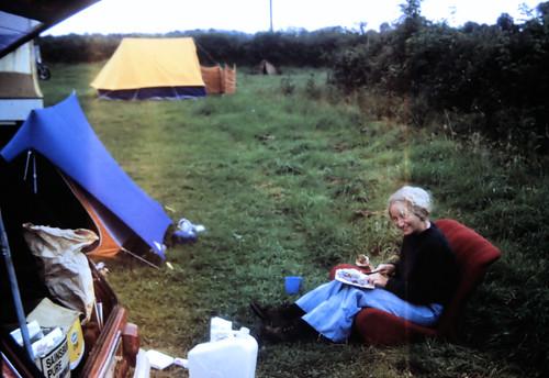 03 | Naomi at Roscrea 1974-08