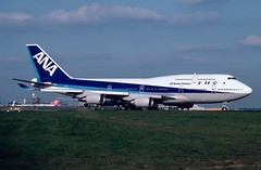 JA 8958 Boeing 747-481 ANA LHR 5.99