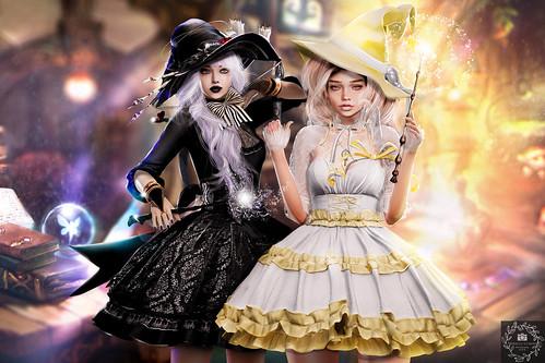 Kawaii witches Client Work