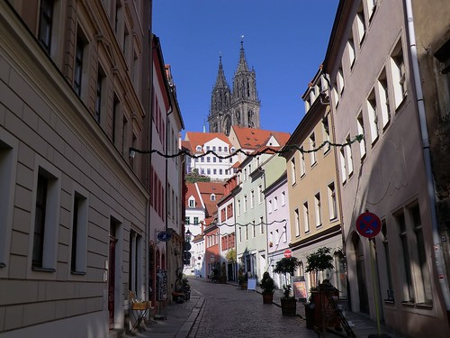 Meissen cathedral towers