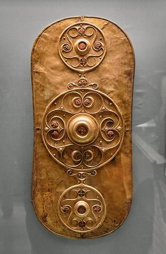 Escudo celta de Battersea, Museo Británico