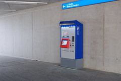 Léman Express ticket vending machine @ Gare de Lancy-Bachet @ Lancy