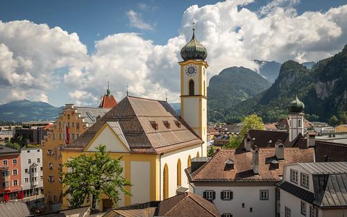 Kufstein; Blick von der Festung