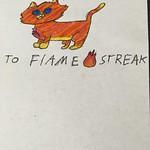 flamestreak by Kestrelfeather
