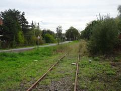 Voie de chemin de fer au lieu dit