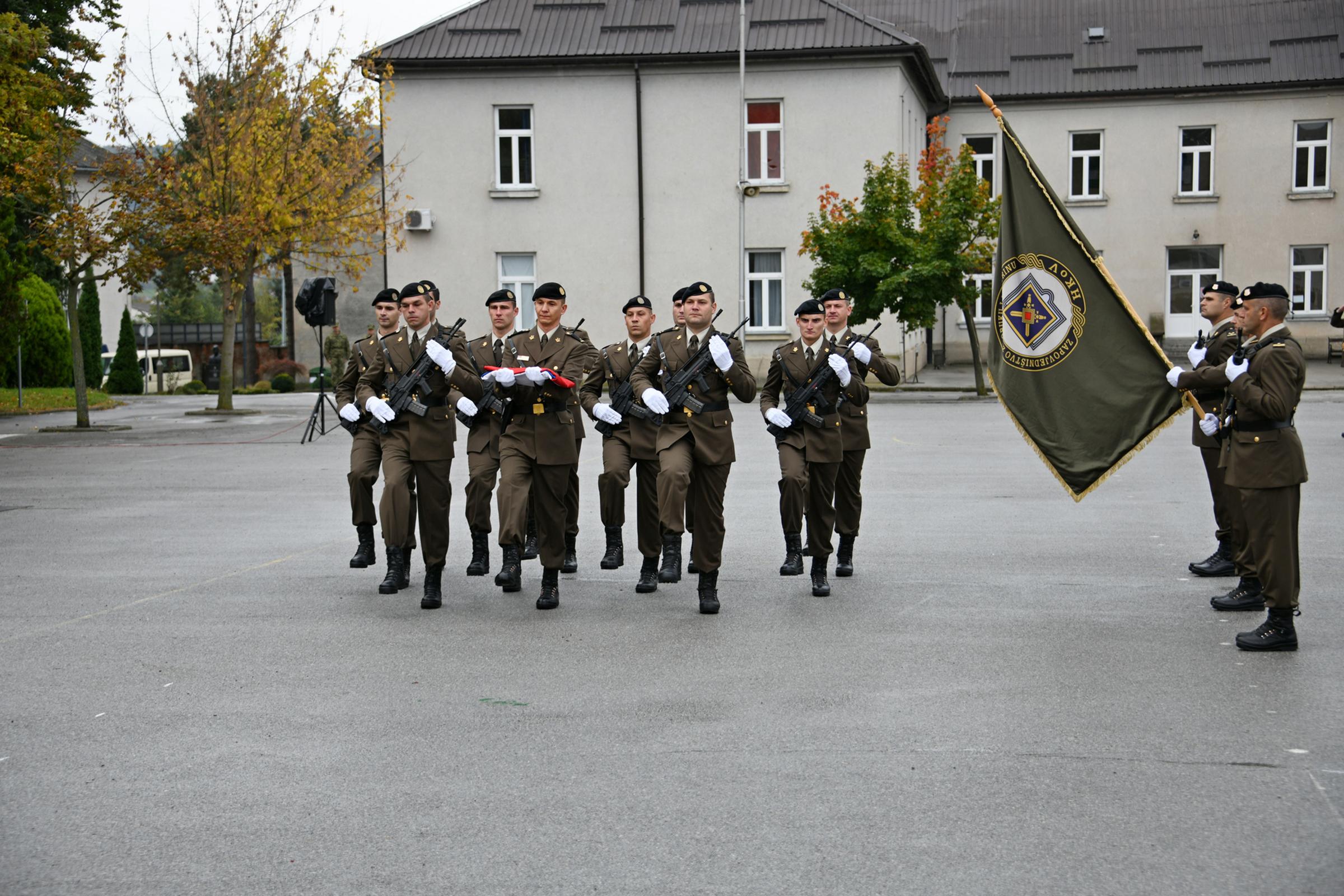 U Požegi prisegnulo 190 ročnika na dragovoljnom vojnom osposobljavanju