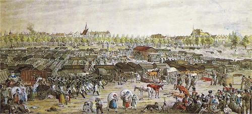 Leipzig zur Zeit der Völkerschlacht 16. - 19. Oktober 1813
