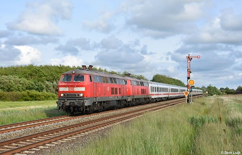 DB 218 389, Klanxbüll, 20-6-2020 18:49