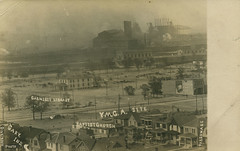 Early Town View, circa 1908 - Gary, Indiana