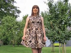 Classy pattern dress