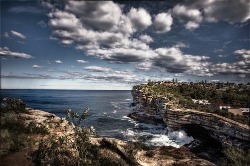 Cliffs behind Watsons Bay