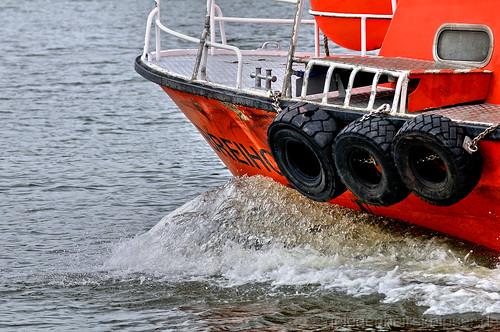 Bug des Lotsenbootes