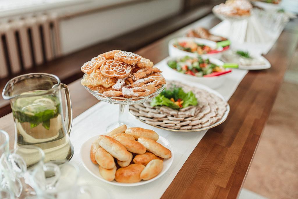 Food On Wedding Receptions, Fried Sugar Pastry