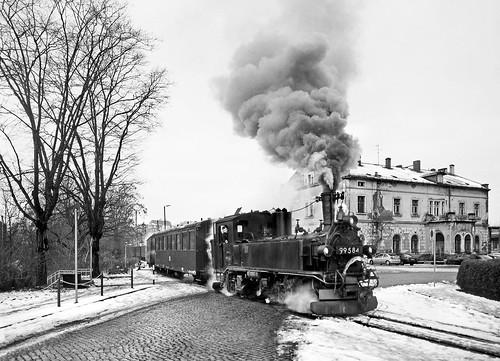 Zittau Station Forecourt