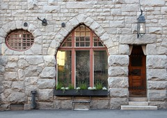 Historical stone building